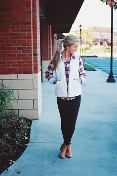 flannels and vests