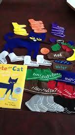 Pet the cat felt story