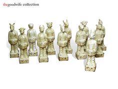 eli collect, chines figurin, ming dynasti, ceram zodiac, dynasti ceram