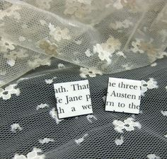 Jane Austen earrings