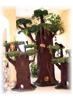 Luxury Cat Trees that look like real Trees