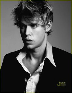 Chord Overstreet - (Sam Evans, Glee) ....Pretty sure I'm too old to think this boy is cute. Oops.