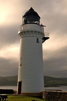 Davaar Lighthouse (near Campbeltown), Kintyre, Scotland by iancowe, via Flickr