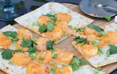 In the Kitchen: Guilt-Free Grilled Thai Sweet and Spicy Shrimp Pizza