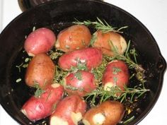 Pan roasted red potatoes