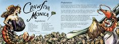 Crawfish Monica<span class='title_artist'> by Sarah Cotton</span>
