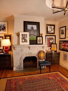 Fireplaces and Tartan