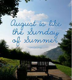 sunday of summer