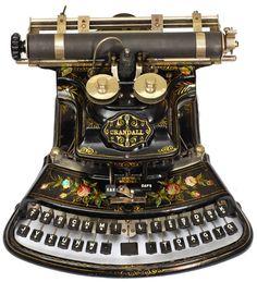 Crandall Antique Typewriter