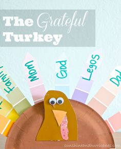 The Grateful Turkey is a special activity for the whole family! Kids and adults will enjoy this Thanksgiving craft that is so easy and inexpensive while teaching gratitude and character. This project is perfect for a class party, scout troop, Awana and the kid's table on turkey day!  sunshineandhurricanes.com