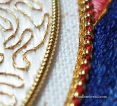 Goldwork Embroidery Up Close