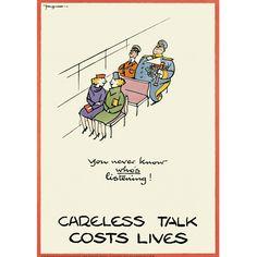 Careless Talk Costs Lives (IWM)