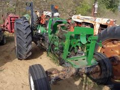 John Deere 5303 tractor salvaged for used parts. Call 877-530-4430 for the best selection of used ag parts. http://www.TractorPartsASAP.com