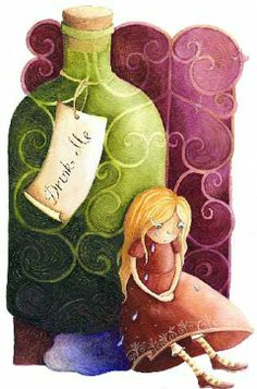 alic illustr, cartoon charact, alic adventur, 3d cartoon, alice in wonderland, drink, mosz alic, artist, gosia mosz