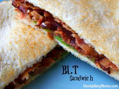 BLT Sandwich - perfect for summer! http://www.stockpilingmoms.com/2013/06/blt-sandwich/
