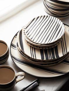 Wythe Striped Platter//