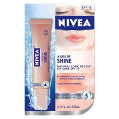 NIVEA A Kiss of Shine Lip Care SPF 15 - Target MIL