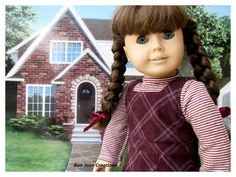 Molly's School Jumper 1940's American Girl by BonJeanCreations, $28.49
