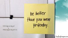 bathroom mirrors, inspiration, quotes, better, yesterday
