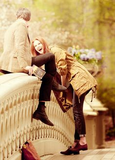 Matt smith and karen gillan <3