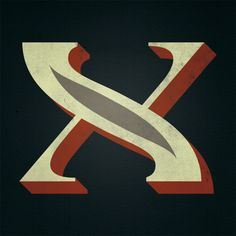 #type #typography #letter #x
