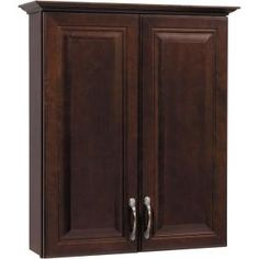 American Classics Gallery 25 in. W Bath Storage Cabinet in Java-TTGY-JVM at The Home Depot