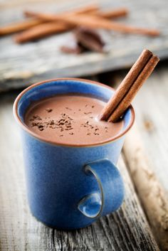 """Hot chocolate yum!! Get the """"on the road"""" recipes ;)"""