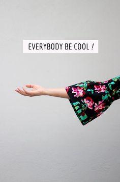 """""""Everybody Be Cool"""" top // Karavan clothing"""