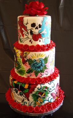 If I could make flash cake decorations work with My wedding I would... But it would stick out like a sore thumb XP