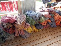 Nanny Kennedy's Seacolor Wool nanni kennedi, kennedi seacolor, seacolor wool