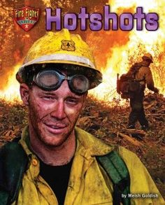 J 628.92 GOL. In this book, young readers will learn about wildfire firefighters.