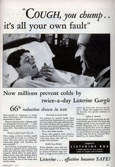 Nice beside manner.  #creepy #vintage #ad