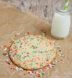 Single Serving Birthday Cake Cookie