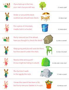 Printable Easter Egg Hunt!!!