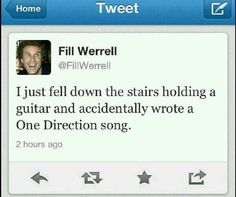 I like One Direction but that's hilarious