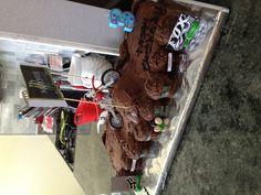 Dirt bike superX cake