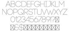 minimal fonts