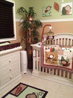 Baby Lukas's Monkey Room