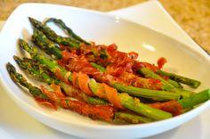 Bacon wrapped asparagas.  :)