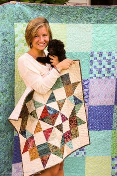 More Moda Love blog hop with Edyta Sitar of Laundry Basket quilts. #modablogtour