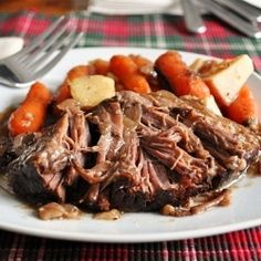 Balsamic Pot Roast - hands down the best pot roast I've ever had and/or made!