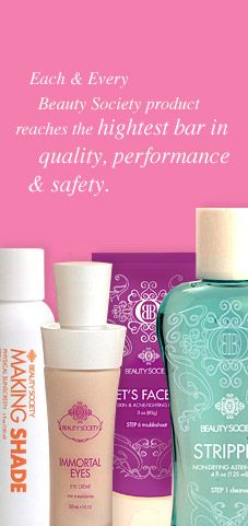 Your skin will feel great and you will look years younger with Beauty Society products.....guaranteed!