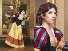 Snow White In A Historically Accurate Costume [Cosplay] I just need a #cosplay board at this rate.