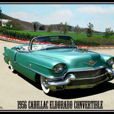 1956 Cadillac Eldorado Convertible  Yes, please!!!