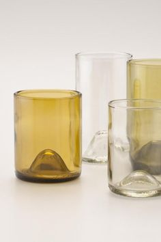 Recycled Wine Punt Tumblers – love these! / Schoolhouse Electric