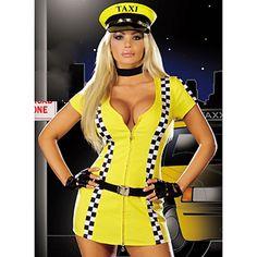 Tina Taxi Costume, sexy halloween costumes