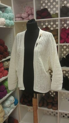 Ravelry: Iona Jacket pattern by Susan Long