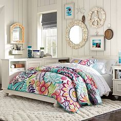 This is from Pottery Barn teen but I want this room!