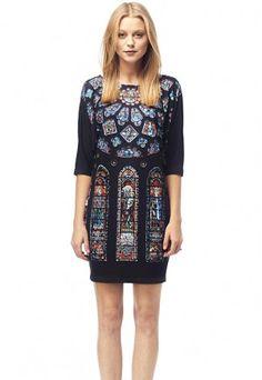 Chatres - Printed T-shirt Dress