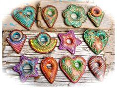 Nikola Morse - Polymer Clay Beads